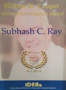 Cooper Award 2016