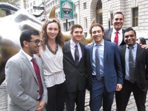 Stamford Econ Undergraduates Present at NY Fed Challenge