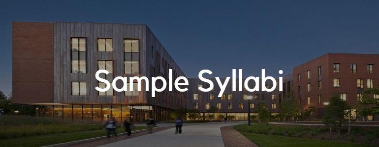 Sample Syllabi